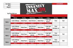 Insanity MAX:30 Calendar - Ab Maximizer