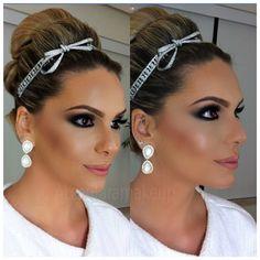 Bridal!!! 👰#alcantaramakeup #vegas_nay #anastasiabervelyhills #bridal #makeup #makeupartist #eyeslash #eyes #eyesbrown #casamento #noiva