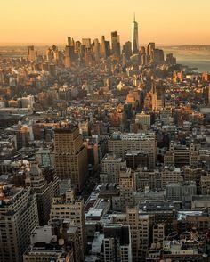 Sunrise In NYC
