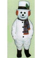 Mascot costume #2704A-Z Jolly Snowman w/Hat, Earmuffs, & Scarf