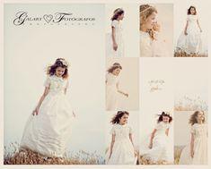 exteriores de comunión en castellón Photographing Kids, First Communion, Poses, Documentaries, One Shoulder Wedding Dress, Portrait, Exterior, Wedding Dresses, Photography