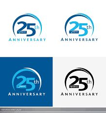 Картинки по запросу 25th anniversary logo ideas