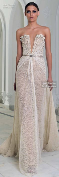 Abed Mahfouz Fall Winter 2014-15 Couture - Winter Bliss