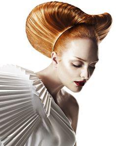 Hair: HOB Art Team @ HOB Salons  Photography: John Rawson  Makeup: James O'Riley