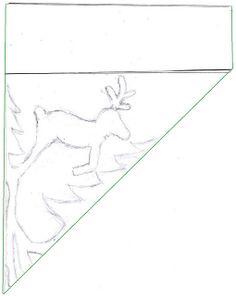 Reindeer Snowflake Pattern (via Zauberbear) Diy Christmas Snowflakes, Paper Snowflakes, Christmas Paper, Christmas Crafts For Kids, Christmas Projects, Holiday Crafts, Paper Snowflake Designs, Paper Snowflake Template, Festa Frozen Fever