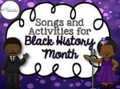 Mrs. Miracle's Music Room: Musical Activities for Black History Month