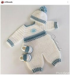 Crochet Baby Girl Overalls free crochet pattern for baby new pattern images for 2019 page 48 of 57 – Artofit Crochet Baby Clothes Boy, Baby Girl Crochet Blanket, Crochet Baby Blanket Beginner, Crochet For Boys, Newborn Crochet, Crochet Baby Booties, Free Crochet, Boy Crochet Patterns, Baby Patterns