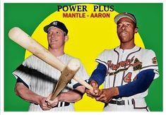Damn Yankees, Ny Yankees, Baseball Photos, Baseball Cards, The Mick, Mickey Mantle, Custom Cards, Legends, Gems