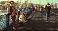 Evliya Çelebi ve Ölümsüzlük Suyu Adlı Türkiye'nin İlk 3D Animasyonu