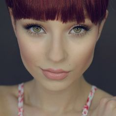 """Eyelashes| ""LashLorette"" @esqido Eyeshadow| @jaclynhill @morphebrushes palette (Redtone, bright pinky and white pearl) Lips| @occmakeup ""Hush""…"""