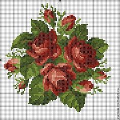 This Pin was discovered by Zül Cross Stitch Tree, Simple Cross Stitch, Cross Stitch Animals, Cross Stitch Flowers, Cross Stitch Kits, Cross Stitch Charts, Cross Stitch Designs, Cross Stitch Patterns, Diy Embroidery