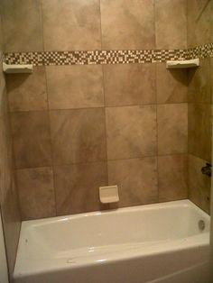 new shower in main bath