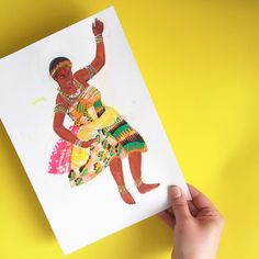 Yesterday 6 March - Ghana celebrates their Independence day! Tomorrow is International Women's Day! . This week celebrates so many wonderful things . This is an original painting I did of a Ghanaian dancer doing a dance called Akan Adowa. Performed in large social gatherings and events. Of course - I love the costumes the colours and the meanings behind the dances. . This is one of my favourite originals paintings. So good to look at it again. . Anyone who lives in Ghana - Happy Independence…