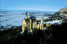 Neuschwanstein Castle, Germany. Photo by Yann Arthus-Bertrand.