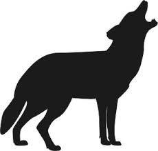 Bildergebnis für wolf tattoo einfach schwarz