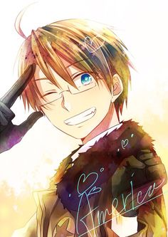 Hetalia (ヘタリア) - America/The United States (アメリカ)--------> NO YOU ARE NOT ALLOWED TO BE THAT CUTE!!!!!!!!!!!!