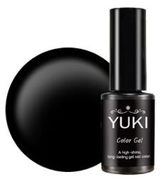Black Color Gel [YUKI] 11Street #NailPolish #PoshNails #BlackNails