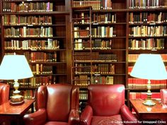 Harvard Club of NYC - Library