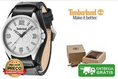 Relógio Timberland Sebbins | 5 ATMCaixa de aço inoxidávelMostrador brancoDiâmetro 44mmMovimento de quartzoCristal mineralResistente à água até 5 ATM / 50 metros