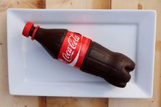 Coke bottle cake