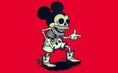 Mickey Skull, horror