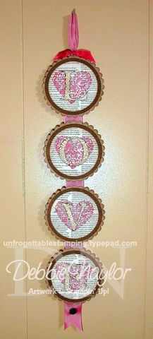 Unfrogettable Stamping | Valentine Love banner 2013-02-07  www.unfrogettablestamping.typepad.com