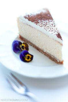 New York Cheesecake Dessert Cake Recipes, Best Cake Recipes, Sweets Cake, Sweet Recipes, Cupcake Cakes, Polish Desserts, Polish Recipes, Cheesecake Bites, Cheesecake Recipes