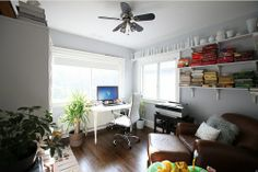 #shelves #office Living With Kids: Shannon Molenaar