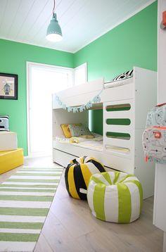 hunajaista asuntomessut 2015 lastenhuone