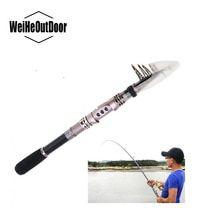 ORIGINAL Yernea Sea Fishing Rods Fiber Telescopic Fishing Rod Carbon 1.8-3.6M