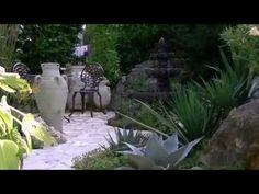 Garten mit mediterranen Akzenten in Deutschland 2.wmv