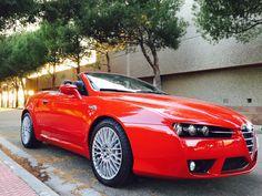 DESCAPOTABLE CON CARÁCTER!ALFA ROMEO SPIDER 3.2. V6 24V 2P.  #concesionarios #coches #alfaromeo