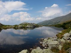 Lakes of the Clouds in Sargent's Purchase are a series of lakes and ponds nestled between Mount Washington and Mount Monroe, 5,032 feet above sea level.
