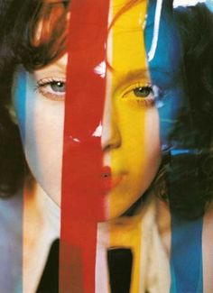 color, karen elson, photograph, tim walker , vogue