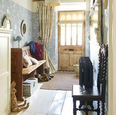386 Best Country Cottage Entrance Hall Stairway Landing