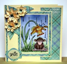 House-Mouse & Friends Monday Challenge: It's APRIL SHOWERS for Challenge HMFMC192