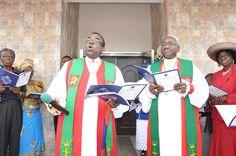 Dr. Sunday Ola Makinde & Most Revd M. Kehinde Stephen