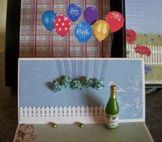 Staffelikort med pop-up Pop Up, Happy Birthday, Frame, Decor, Happy Brithday, Picture Frame, Decoration, Popup, Urari La Multi Ani