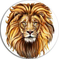 Animal Graphic, Graphic Art, Lion King Cakes, Indian Mandala, Lion Art, Lion Tattoo, Mandala Pattern, Paint By Number, Free Vector Art