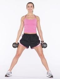 a great beginner workout for women in weight lifting