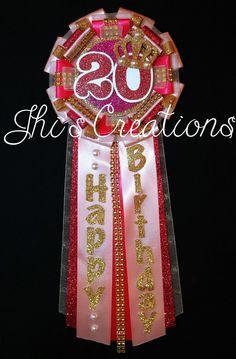 Disney Princess /'Dream Big/' Birthday Party Award Ribbon Pin Badge
