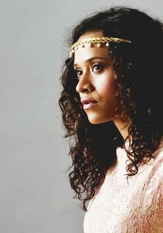 Angel Coulby, character inspiration