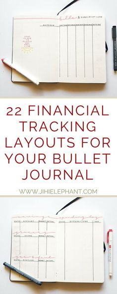 Keeping track of your bills, payments, and money can be so incredibly difficult, particularly if you have more than one account. Check out this post for over 20 bullet journal layouts to help you with your finances!