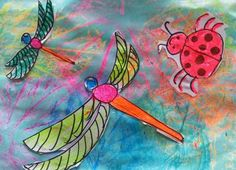 Dream Painters: Dragonflies & Other Insects: Jordan O (Y3)