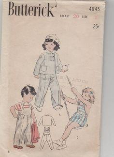 711 Best Vintage clothing/sewing patterns Children-three
