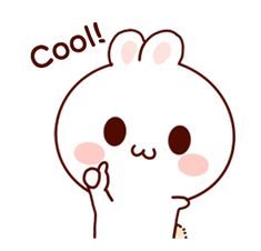 LINE Creators' Stickers - Happy bunny Sunny 2 Example with GIF Animation Cute Cartoon Images, Cute Love Cartoons, Cute Cartoon Wallpapers, Cute Images, Cute Love Gif, Cute Cat Gif, Anime Stickers, Funny Stickers, Kawaii Drawings