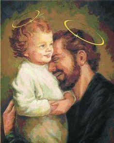Catholic Prayers, Catholic Art, Catholic Saints, Pictures Of Jesus Christ, Religious Pictures, St Joseph, Happy Feast Day, Sainte Rita, Christian Images
