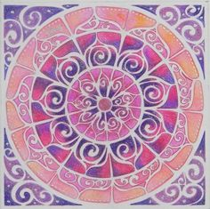 ☮ American Hippie Art ~ Mandala