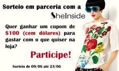 Trashy Vogue | por Jacqueline Illoz: Sorteio em parceria com a Sheinside!