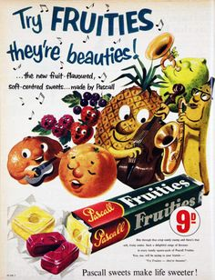 fruities!!! vintage ad from vivatvintage
